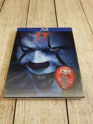 IT (Blu-ray, 2019) w/ Rare Best Buy Exclusive Lenticular Slipcover. Remake. New