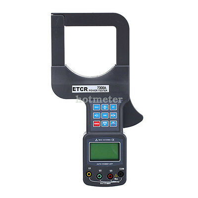 H● ETCR7300A Large Caliber Three Phase Power Tester