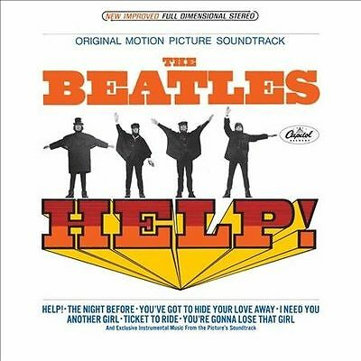 HELP! by The Beatles (33 RPM LP Vinyl Record Capitol MAS-2386) Used Soundtrack