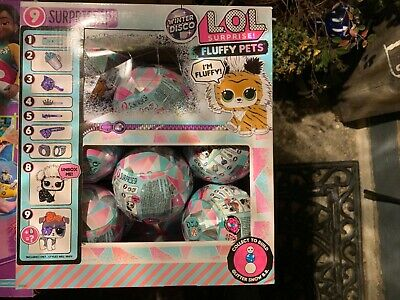 Lol Surprise Winter Disco Fluffy Pets - Full Untouched Case 16 Balls - In Hand