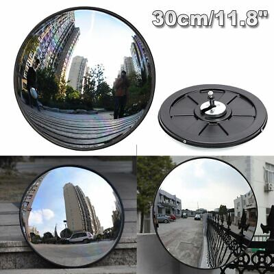 30cm Wide Angle Security Road Mirror Curved for Indoor Burglar Outdoor Safurance