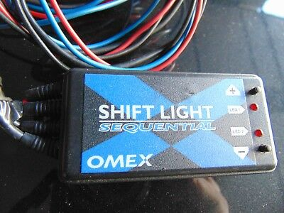 Omex Sequential Shift Light shiftlight