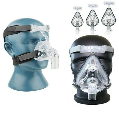 CPAP Mask For Nasal Face Mask Resmed Sleep Snore Respirator Strap with Headgear