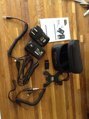 King Wireless TTL Flash Trigger and bag