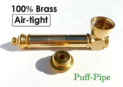 Metal Wood Tobacco Smoking Pipe Silver Brass Herb Pipes