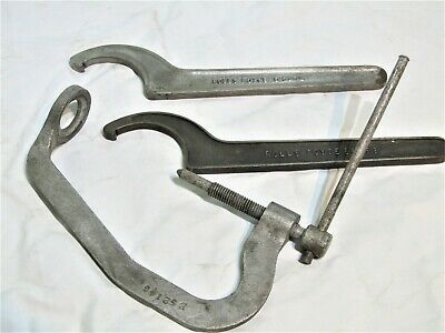 Vintage Rolls Royce Service Tools C Spanners And Compression Tool