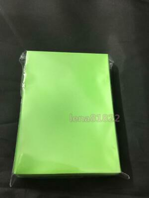 60pcs DECK PROTECTOR Card Sleeves 62mm*89mm lightgreen and Matte