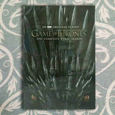 Game of Thrones:The Ending Season (DVD, 2019, 3-Disc Set) Brand New