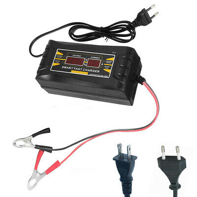 Intelligent Lead Acid Battery Charger Car Charger Full Automatic Smart Charging