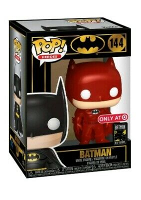 Funko Pop Red Batman Target Exclusive. 80th Anniversary. DC. Good box