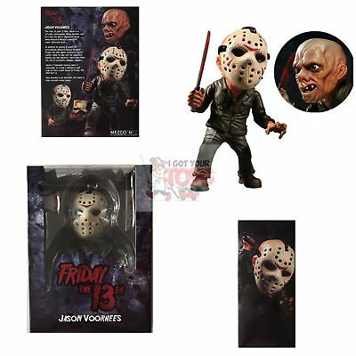 "JASON VOORHEES STYLIZED Mezco Friday The 13th  6"" Inch ARTICULATION FIGURE"