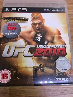 UFC Undisputed 2010 PS3 *in Good Condition*