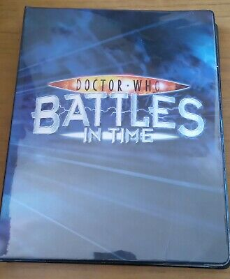 2 Albums of Dr Who Battles in Time Collectors Cards - Over 250 cards