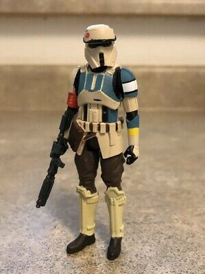 Star Wars SCARIF STORMTROOPER CAPTAIN 3.75 Rogue One Loose