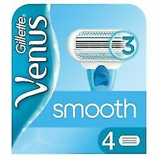 2 X 4 (8) Gillette Venus Smooth Razor Blades