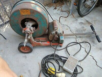 General Sewer Rooter Junior Snake Drain Rooter Sewer Auger Model 63