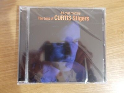 Curtis Stigers Best of CD - All that matters NEW SEALED