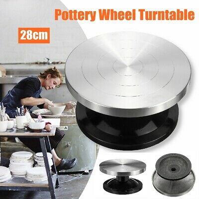 Replaceable Banding Wheel Turntable Clay Pottery Tool 280mm Clay Modelling AU