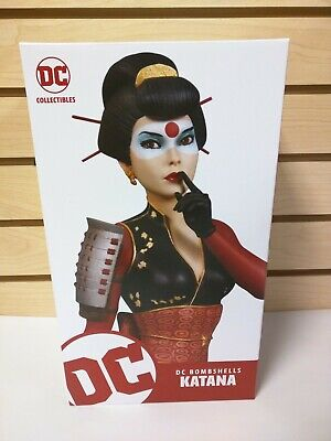 DC Comics DC Bombshells Katana Statue by DC Collectibles - NEW!