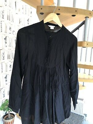 Mamas And Papas Maternity Black Loose Top- Perfect For Any Occasion- Size 10