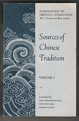 Sources of Chinese Tradition: Sources of Chinese Tradition Vol. 1 (1964, PB,,,,8