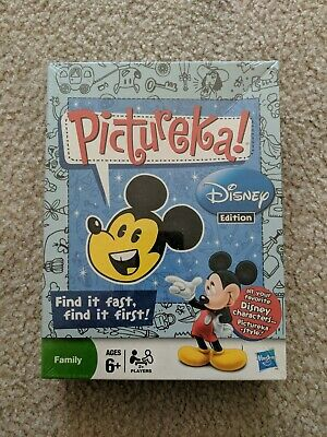 Hasbro Pictureka! Disney Edition Board Game - Brand New Sealed Ages 6+