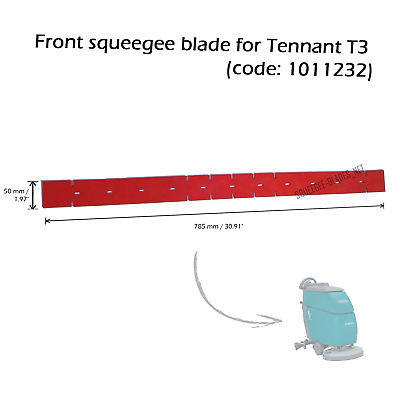 Front squeegee blade for Tennant T3 FREE WORLDWIDE SHIPPING!
