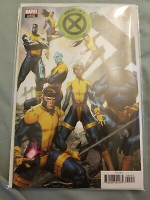HOUSE OF X  #4 MOLINA CONNECTING VARIANT COVER MARVEL COMIC 2019 1st Print NM