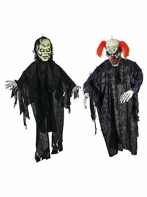 Sensenmann oder Zombie Clown Wandbehang Requisite 7FT Halloween Scary Zimmerdeko