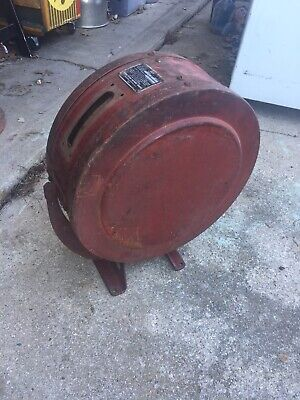 VINTAGE  Eco Air Meter Model 32 Air Hose Reel Gas Oil Service Station