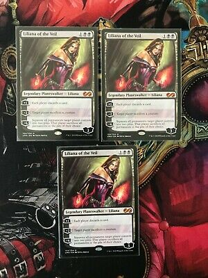 Liliana of the Veil - MTG - UMA - Ultimate Masters - NM - 3 available