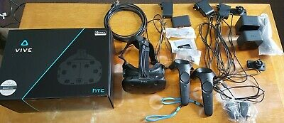 HTC Vive Virtual Reality Headset - Full Kit with base stations and controllers