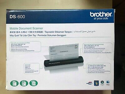 NEW Mobile Document Scanner BROTHER DS-600
