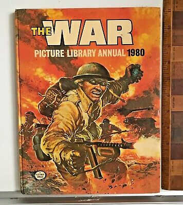 Vintage 1980 Commando War Picture Library Comic Book Annual Hb Uk Vgc!!!