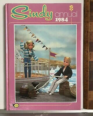 VINTAGE 1980s SINDY ENGLISH TEEN DOLL ANNUAL PEDIGREE PHOTO BOOK HB UK EXC!!!