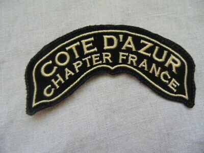 Harley-Davidson Patch Collector Hog Cote D'azur Chapter France