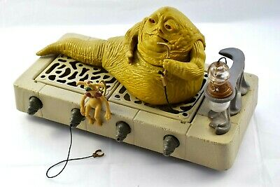 Star Wars Vintage 1983 Jabba The Hutt Action Playset - Complete & Excellent