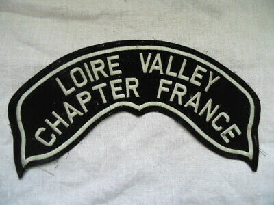 Harley-Davidson Grand Patch De Dos Collector Hog Loire Valley  Chapter France