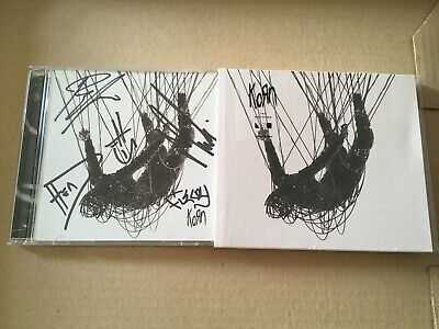 Korn - The Nothing Cd Signed Autographed - NEW AMZN Exclusive