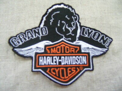 Harley Davidson Patch Collector Grand Lyon Hd