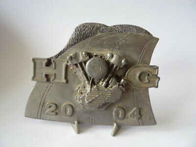 Harley Davidson Plaque Collector Hd Hog 2004