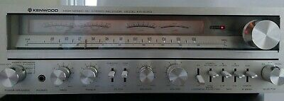 Vintage Kenwood KR-6050 Stereo Receiver Great Condition Completely Original