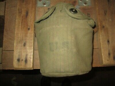 WWII WW2  M-1910 Canteen Cover Pouch US ARMY ORIGINAL