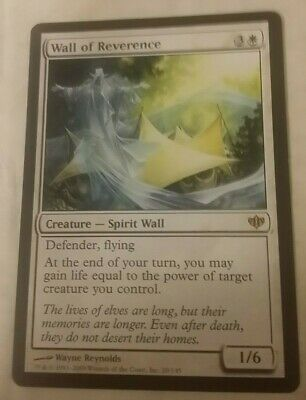 MTG Magic the Gathering Card x1: Conflux: Wall of Reverence LP/NM