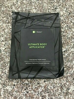 It Works Ultimate Body Applicator Wraps- 4 Countouring Wraps Exp. 2020