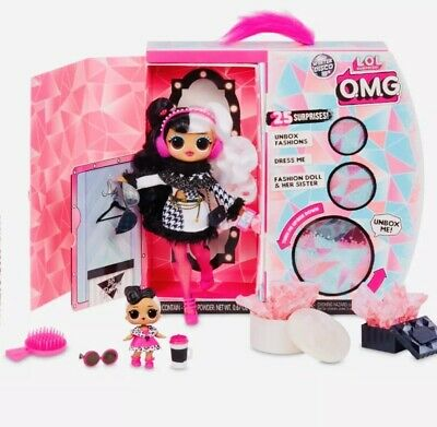 LOL Surprise WAVE 2 DOLLIE OMG Fashion Doll DOLLFACE Winter Disco Series