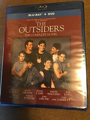 The Outsiders: The Complete Novel [New/Sealed Blu-ray + DVD  New Sealed