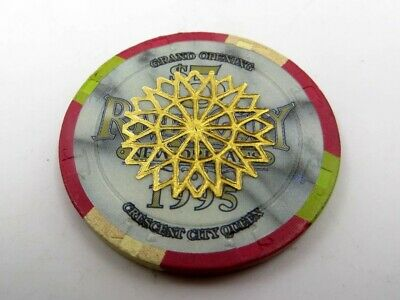 River City Casino New Orleans 1995 Grand Opening $5 Casino Chip Cancelled