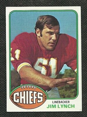 1976 Topps Football #517 Jim Lynch