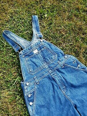Calvin Klein Vintage USA Bibs Overalls Big Kids Large DAMAGE Womens Small